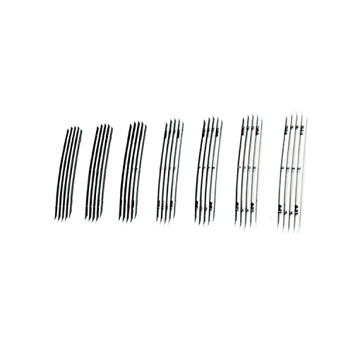 Paramount Restyling 30-0105 Overlay Billet Grille with 4 mm Vertical Bars, 7 Piece