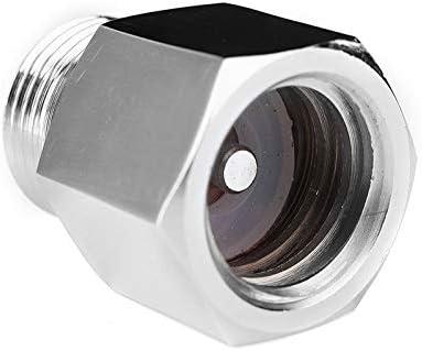 per birra e birra Vogueing Tool W21.8 maschio a BSP 5//8 femmina adattatore cilindro CO2 convertitore adattatore per flusso di soda cromato