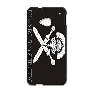 HTC One M7 Cell Phone Case Black Iron Maiden AFT850563