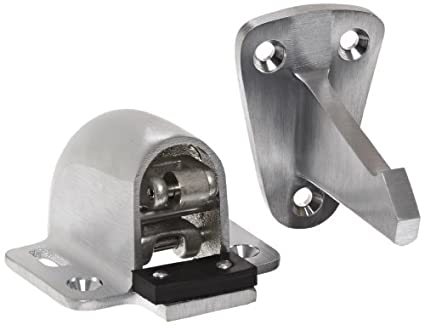 Rockwood 494.26D Brass wall Mount Automatic Door Holder with Stop Satin Chrome Plated Finish  sc 1 st  Amazon.com & Rockwood 494.26D Brass wall Mount Automatic Door Holder with Stop ...