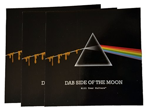 (Dab Side of the Moon Rectangle Vinyl Sticker 3 Pack)