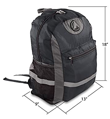 GigaTent Hiking Camping Backpack Lightweight Packable Durable Travel Daypack Foldable