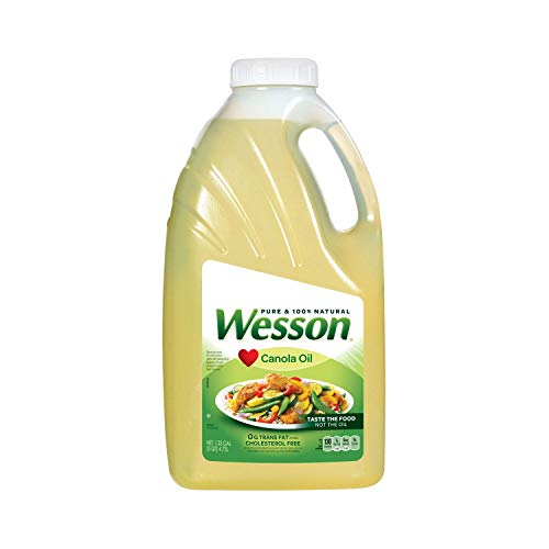 - Wesson Pure Canola Oil , 1.25 Gallon