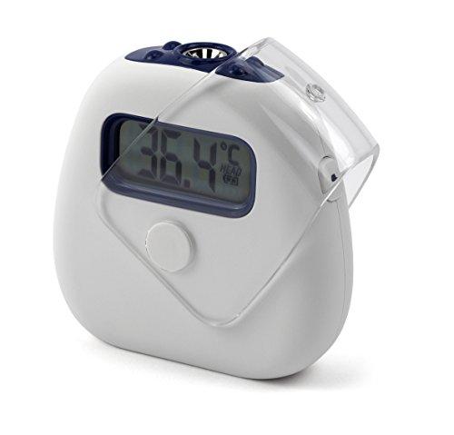 MedX5 Infrarot Fieberthermometer mit Fieberalarm, Digital Thermometer Stirnthermometer für Kinder und Erwachsene