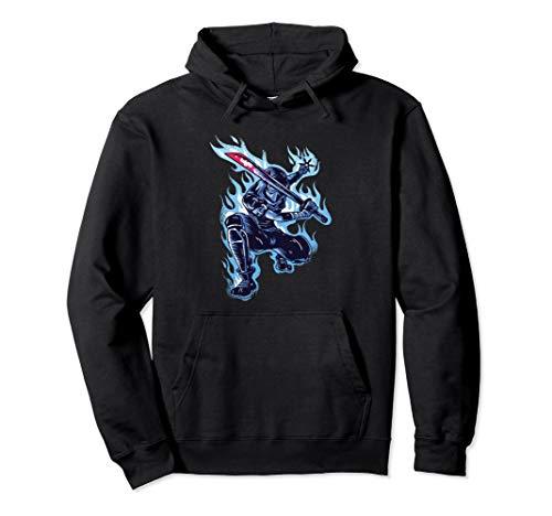 (Blue Flames Ninja Sword)