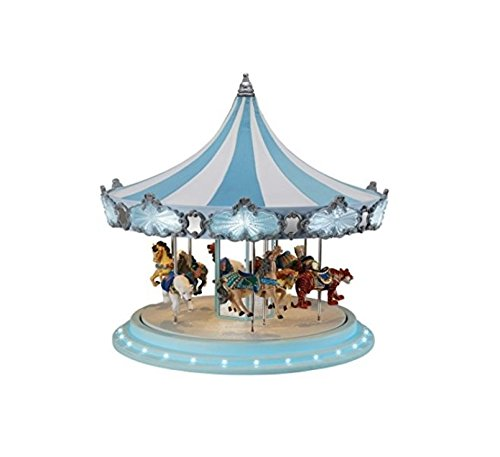 Mr. Christmas Animated Musical Frosted Carousel Decoration #79151