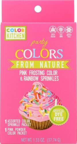Colorkitchen Pink Sprinkle Set 1.33 OZ (Pack of 12)