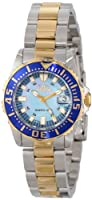"""Invicta Women's 2961 Pro Diver Collection """"Lady Abyss"""" Two-Tone Dive Watch by Invicta"""