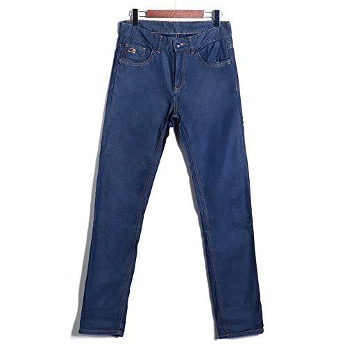 taille Pour Eu Jean Droit Décontracté 40 Hommes Pantalon Chlyuan Jeans Homme 68qwg