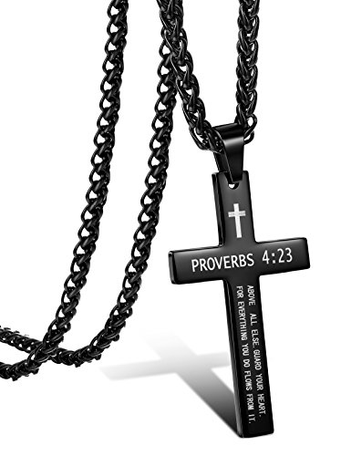Plating Cross 22in Necklace - 3