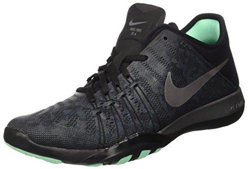 Nike Wmns Free Tr 6 Mtlc, Baskets Basses Femme, Gris (Dark Grey/Metallic Silver/Black), 38 EU