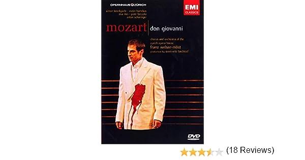 Don Giovanni [Alemania] [DVD]: Amazon.es: Wolfgang Amadeus Mozart, Franz Welser-Möst, Franz Welser-Most: Cine y Series TV