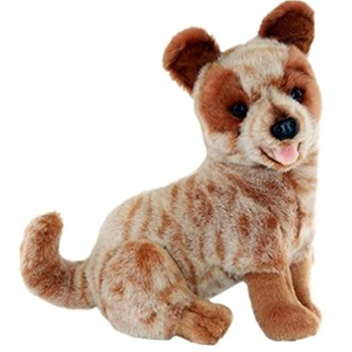 Bocchetta Plush Toys Blaze Cattle Dog Plush Toy, Red Heeler Stuffed Puppy Toy, Size 23cm/9″ ()