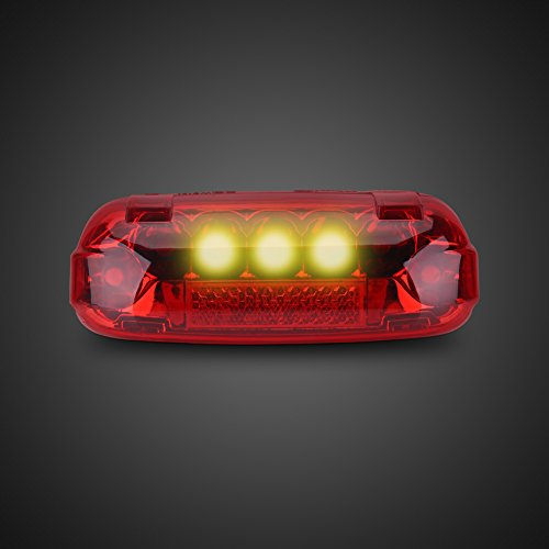 Rear Electric Scooter - Electric Bicycle Rear Light 48V LED Brake Lamp Safety Warn Light for Scooters E-bikes