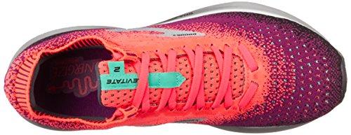 Aqua de Running Pink Brooks Levitate Multicolore Femme Chaussures 678 Black 2 ztPtI