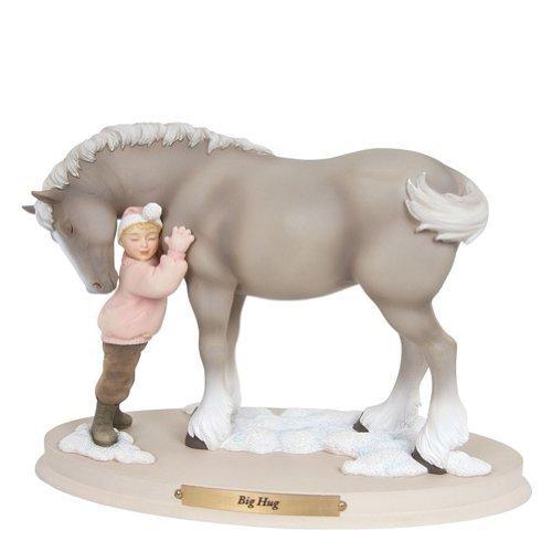 【返品交換不可】 Enesco Horse Whispers Big Big B017RURIKU Hug Figurine Whispers , 4.96-inch by Enesco B017RURIKU, みなぎ:94acd930 --- arcego.dominiotemporario.com
