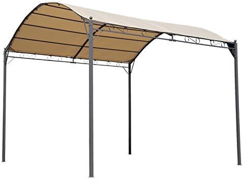 Angel Living 3x3m Pabellón, Carpa para coche, Jardín y exterior Cenadores: Amazon.es: Jardín