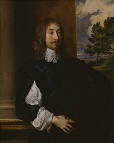 'Anthony Van Dyck - Portrait Of Sir William Killigrew,1638' Oil Painting, 20x25 Inch / 51x64 Cm ,printed On Perfect Effect Canvas ,this Amazing Art Decorative Prints On Canvas Is Perfectly Suitalbe For Gift For Bf And Gf And Home Decor And