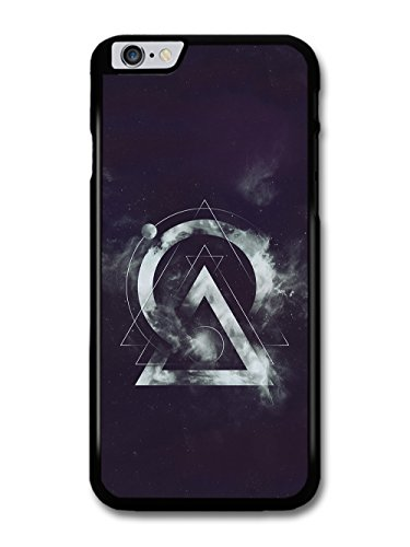 Cool Hipster Shapes in Space with Geometric Lines and Clouds case for iPhone 6 Plus 6S Plus