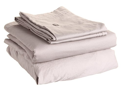 Lacoste Home Brushed Twill Paloma Queen Sheet Set