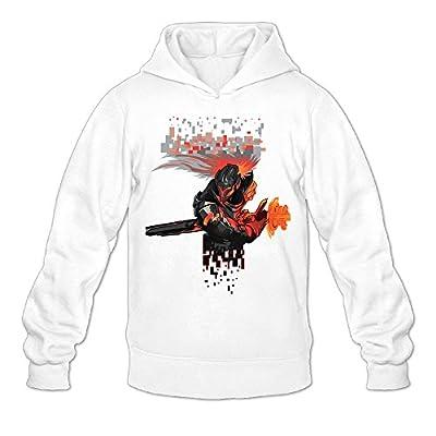 Project Yasuo League Of Legends Men Men's Sports Fashion Blank Hooded Sweatshirt White
