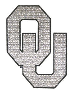 NCAA Oklahoma Bling Emblem, One Size, One Color