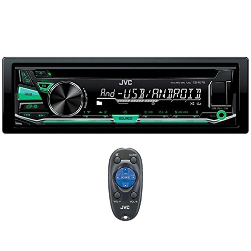JVC KD-R570 CD Receiver with Front USB/AUX Input
