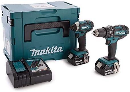 Makita Combi de broca y llave de impacto, 18 V 2 Piece Combo Kit ...