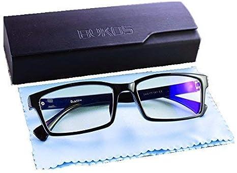 272bbb8f74e6c Blue Light Blocking Computer Glasses by Bukos - ORIGINALS - Men   Women -  HD ALL DAY Protection - FDA Approved - Sleep Better - Reduce Eye strain
