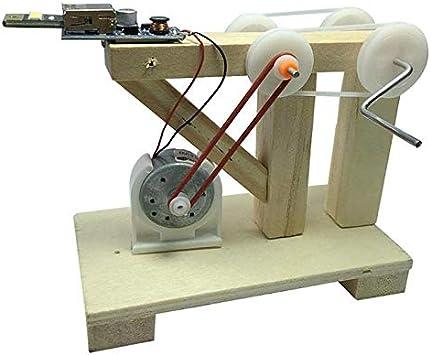 Monland Juguetes Ensamble DIY Modelo Generador De Dinamo Kit De Experimentos Físicos De Ciencia De La Invención De Madera Juguetes Educativos Creativos para Ni?os: Amazon.es: Juguetes y juegos