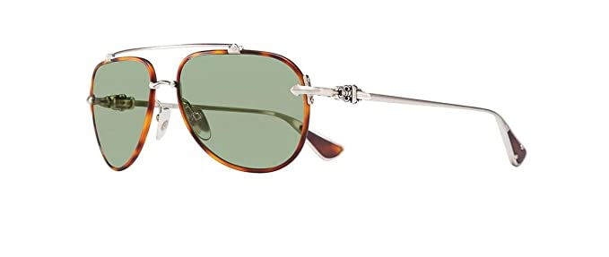 a62e6a95ab Chrome Hearts - Spinner - Sunglasses (Matte Butterscotch Tortoise Brushed  Silver