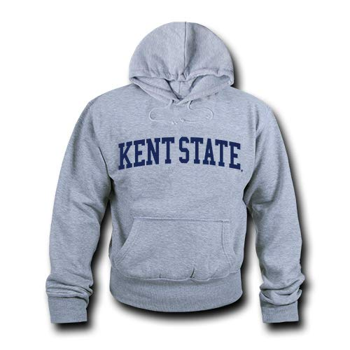 W Republic NCAA Kent State Golden Flashes Unisex 503Game Day Hoodie, Heather Grey, X-Large from W Republic
