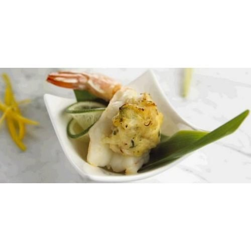 New Wave Kaptains Ketch Breaded Stuffed Shrimp with Crab, 2 Ounce -- 40 per case.