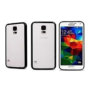 ZX Samsung S5 I9600 compatible Solid Color Plastic Bumper , Blue