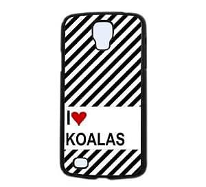 Love Heart Koalas Samsung Galaxy S4 Active S4 Active - i9295 Case - Fits Samsung Galaxy S4 Active S4 Active - i9295