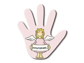 Limpiaparabrisas trasero mano - ángel de la guarda en Rosa: Amazon.es: Juguetes y juegos