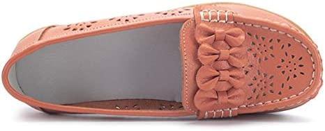 XXXZZL Mocassini da Donna Scarpe da Guida Primavera Estate Casuali Piatto Scarpe Traspiranti alla Moda da Barca Loafers Slip on Sandali,C,40EU
