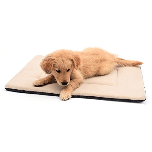 DERICOR Dog Bed Crate Pad Machine Washable