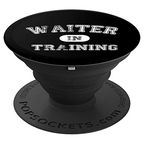 Awesome Waiter In Training Gift - PopSockets Grip and Stand for Phones and -