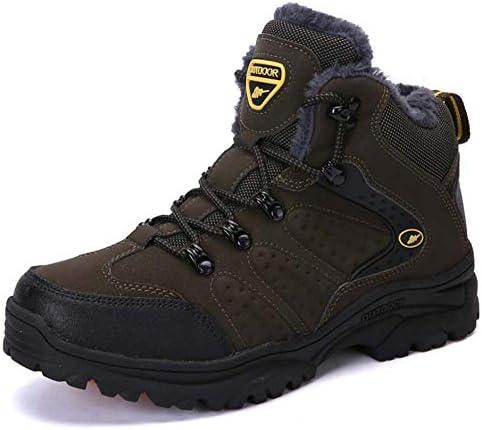 雪のブーツ、靴ビッグサイズクライミングトレイルスニーカーグレーグリーンマンウォーキングメンズ秋冬アウトドアマンスポーツの靴の品質ハイキングシューズ
