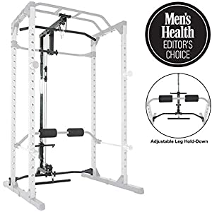 Fitness-Reality-810XLT-Super-Max-Power-Cage-with-Optional-LAT-Pull-Down-Attachment-and-Adjustable-Leg-Hold-Down