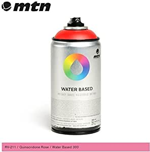 Mtn Quinacridone Rose Rv 211 300ml Water Based Spray Paint By Mtn Home Kitchen