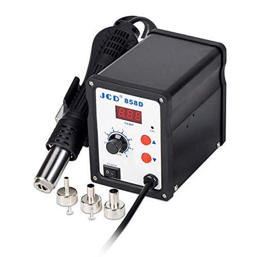 Kind-Hearted 650w 2in1 959d Soldering Iron Station Hot Air Gun Repair Desoldering Welding Led Business & Industrial Soldering & Rework Stations