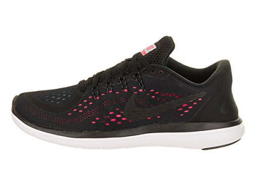Nike Sense Black RN Hot Shoe Punch Black Women's Donna Free Sportive Scarpe Running Indoor rCTrqw