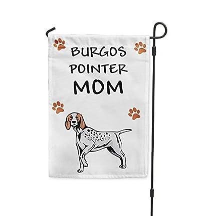Amazon.com: Burgos puntero perro mamá Patio Casa Banner ...