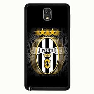 Samsung Galaxy Note 3 Case,Juventus Football Club S.P.A Logo Protective Phone Case Black Hard Plastic Case Cover For Samsung Galaxy Note 3 Juventus