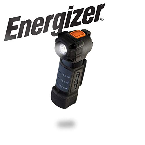 Energizer Magnetic Tactical Flashlight, High Lumens LED Flashlight For Work, Camping, Outdoors, Hiking, IPX4 Water Resistance, 75 Lumens, Batteries Included