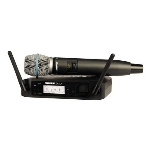 Shure GLXD24/B87A Digital Vocal Wireless System with Beta 87A Handheld Microphone, Z2 by Shure