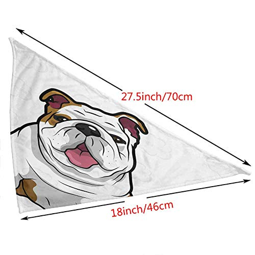 Dog Bandanas,Pets, Cats, Dog Birthday Party Gifts Supiples,Size:side-18