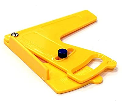 Integy RC Hobby C24207YELLOW Standard Size Plastic Camber Gauge